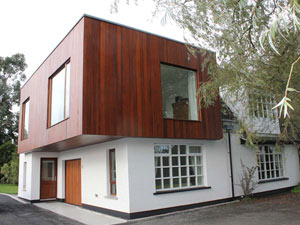 Extension to house: Belfast Road, Ballydavey, Bangor, Co Down